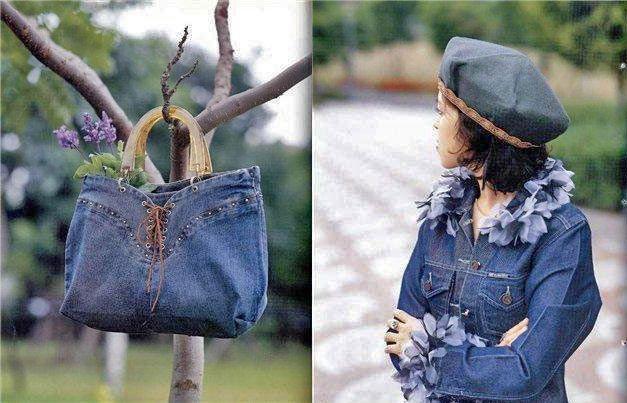 Що можна зробити зі старих джинсів - 21 фото ідея