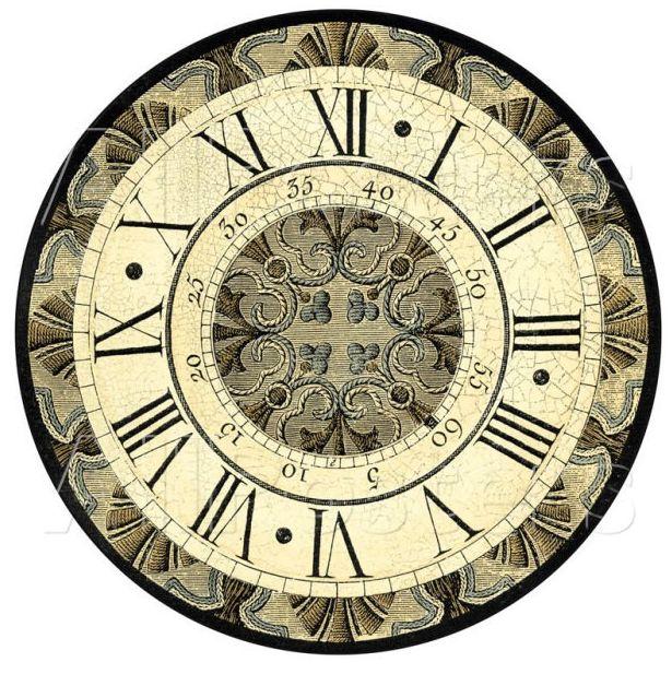 Циферблати годинника - понад 100 шаблонів