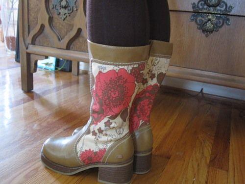 Декор взуття - як оновити чоботи