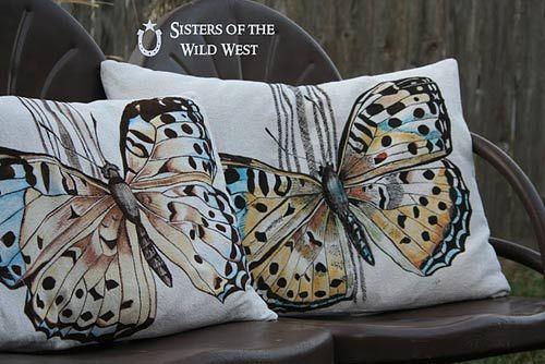 Декор подушок   розпис по тканині акриловими фарбами