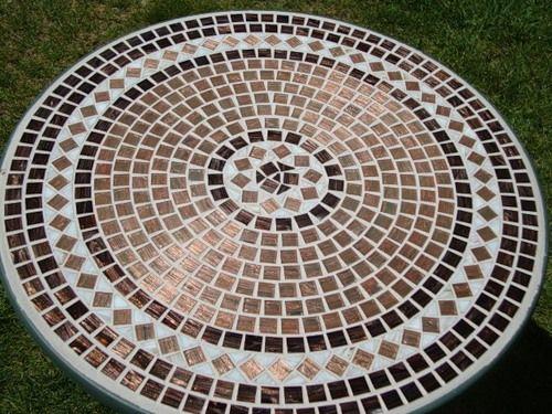 Декорування стільниць мозаїкою