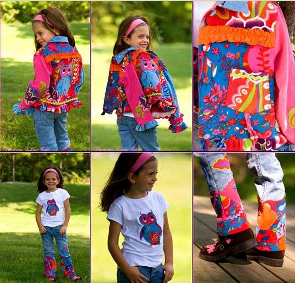 Дитячий одяг своїми руками - яскраві ідеї