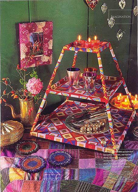Ідеї для декорування в східному стилі - східний декор