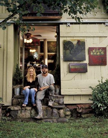Інтер`єр будинку художника - вінтаж та сільський стиль