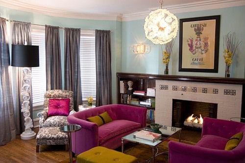 Яскравий дизайн інтер`єру - незвичайна квартира на манхеттені