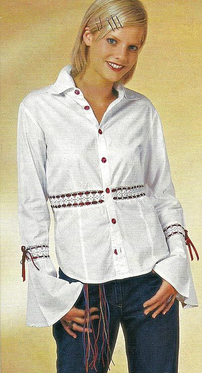 Як прикрасити блузку своїми руками