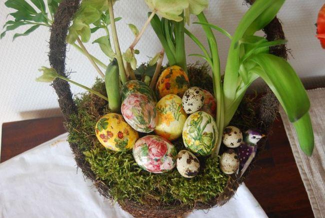 Як прикрасити яйця до великодня