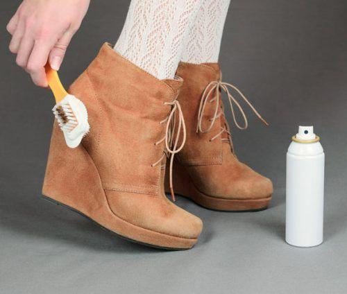 Як замшеве взуття зробити шкіряною