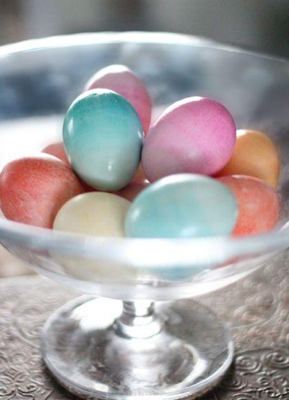 Майстер клас: як пофарбувати яйця на великдень