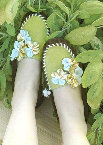 Взуття із замші своїми руками - мокасини