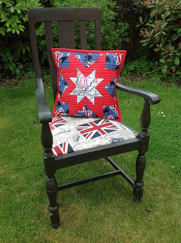 Реставрація старого стільця по книзі сучасна оббивка від ханни стентон