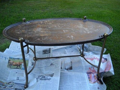 Реставрація столу