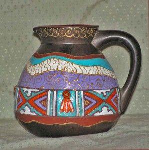 Розпис по кераміці - як розписати глечик або глиняний горщик
