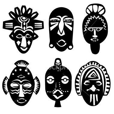 Схеми для виготовлення африканських масок