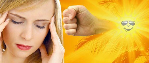 Сонячний удар - симптоми і способи його уникнути.